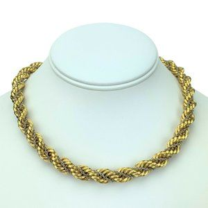 Jewelry - 18k Yellow Gold 62.2g Heavy Thick Rope Necklace